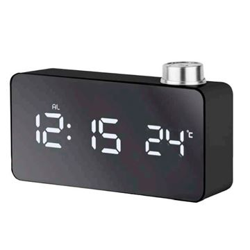 Picture of MIRROR LED DIGITAL ALARM CLOCK JE5109