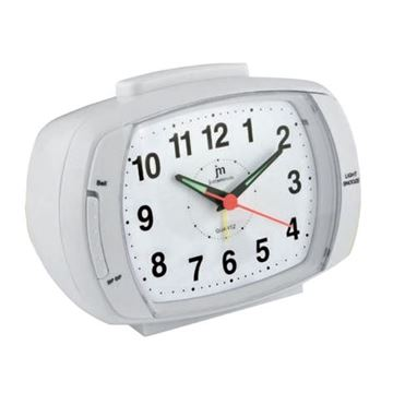 Picture of ANALOGUE QUARTZ CLOCK DOUBLE ALARM JA6014