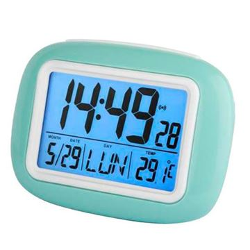 Picture of QUARTZ ALARM CLOCK MULTI-FUNCTION JD9029