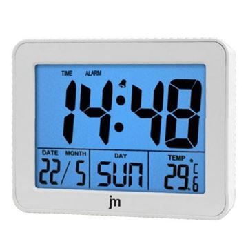 Picture of QUARTZ DIGITAL ALARM CLOCK JD9024