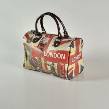 Picture of BORSA LONDON CM 33 X 18 H 22 CON MANICI