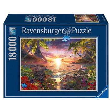 Picture of PUZZLE RAVENSBURGER TRAMONTO 18000 PZ