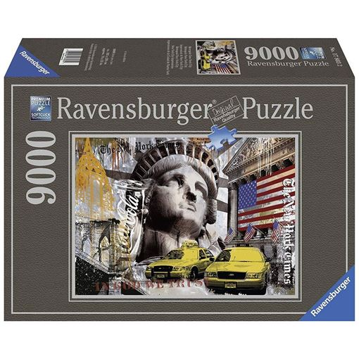 Picture of PUZZLE RAVENSBURGER NEW YORK CITY 9000 PZ