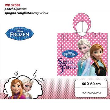 Picture of ACCAPPATOIO PONCHO DISNEY FROZEN