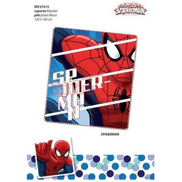 Picture of COPERTA IN PILE SPIDERMAN