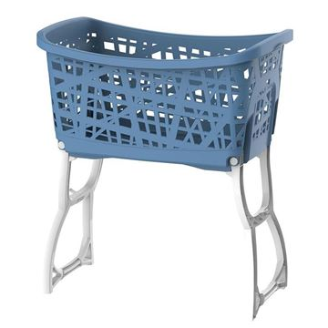 Picture of CESTA BUCATO CON GAMBE STAND UP